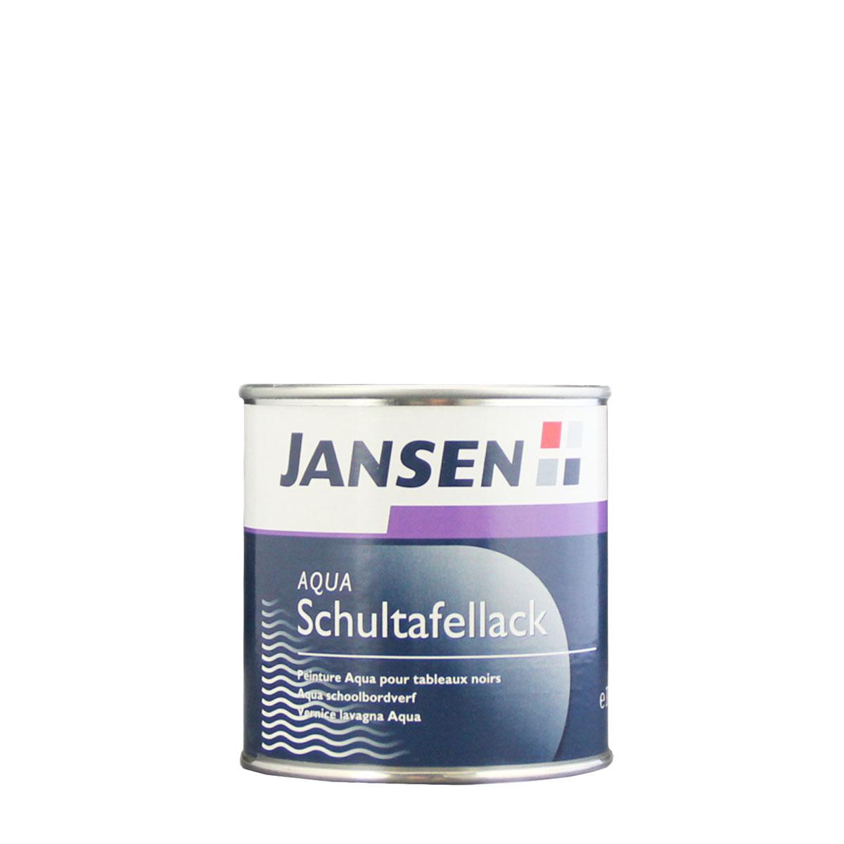 Jansen Aqua Schultafellack schwarz 750ml, Tafelfarbe, Tafellack
