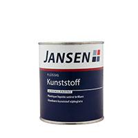 Jansen Flüssig Kunststoff 0,75L versch. Farben, seidenglänzend