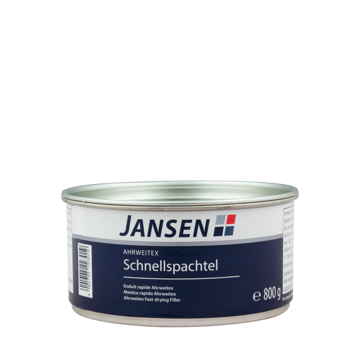 Jansen Ahrweitex-Schnellspachtel, Malerspachtel