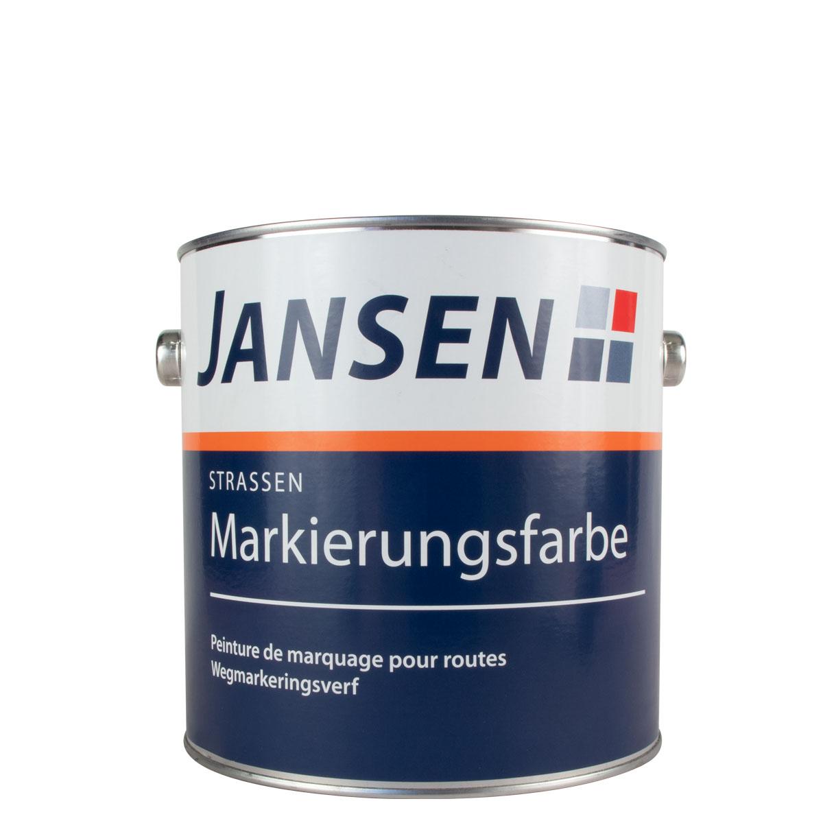 Jansen Straßenmarkierungsfarbe gelb 2,5L RAL 1023