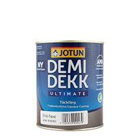 Jotun Demidekk Ultimate TÄCKFÄRG 0,9L weiss, halbmatt, Deckfarbe