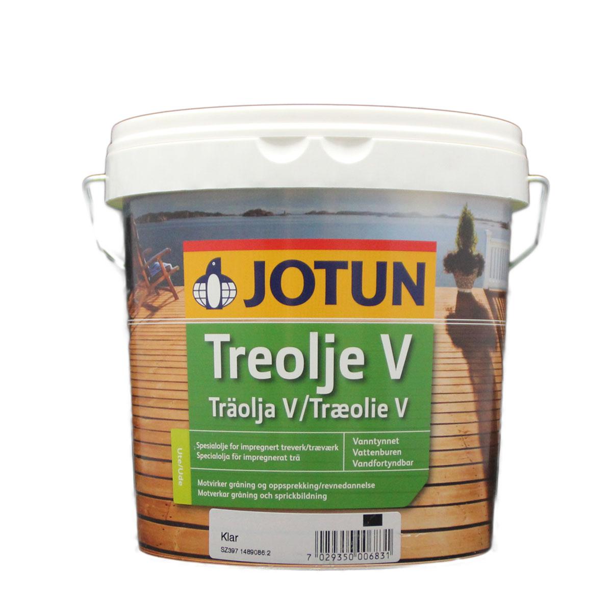 Jotun Treolje V klar 2,7L Holzschutzöl, farblos, Holzöl