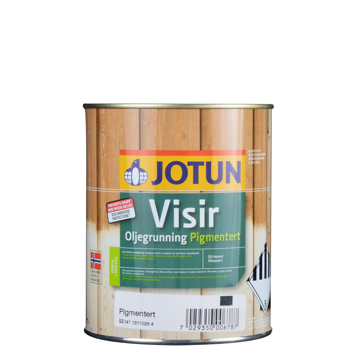 Jotun Visir Oljegrunning pigmentiert, Grundierung
