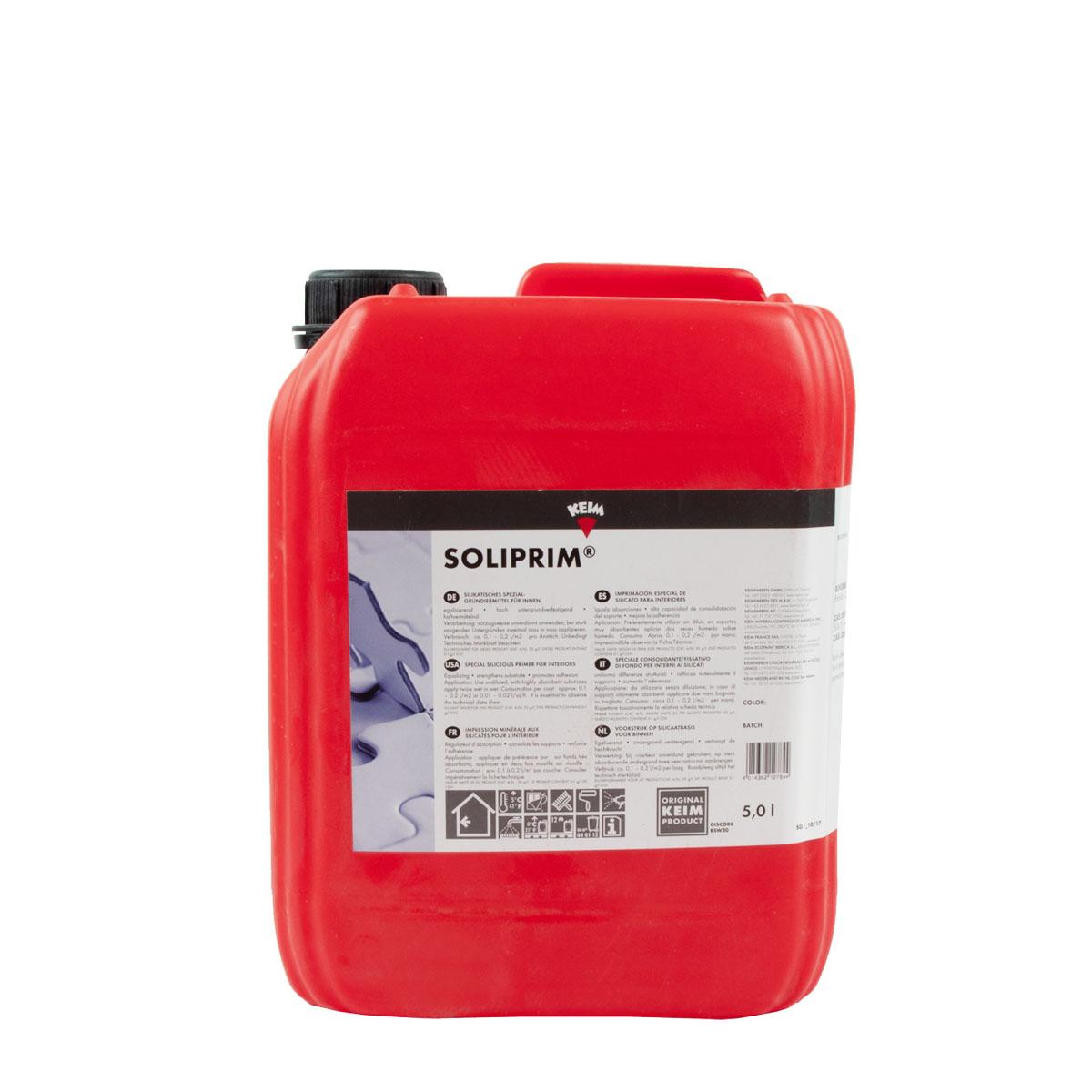 KEIM Soliprim 5L ,silikatisches Spezial-Grundiermittel für innen