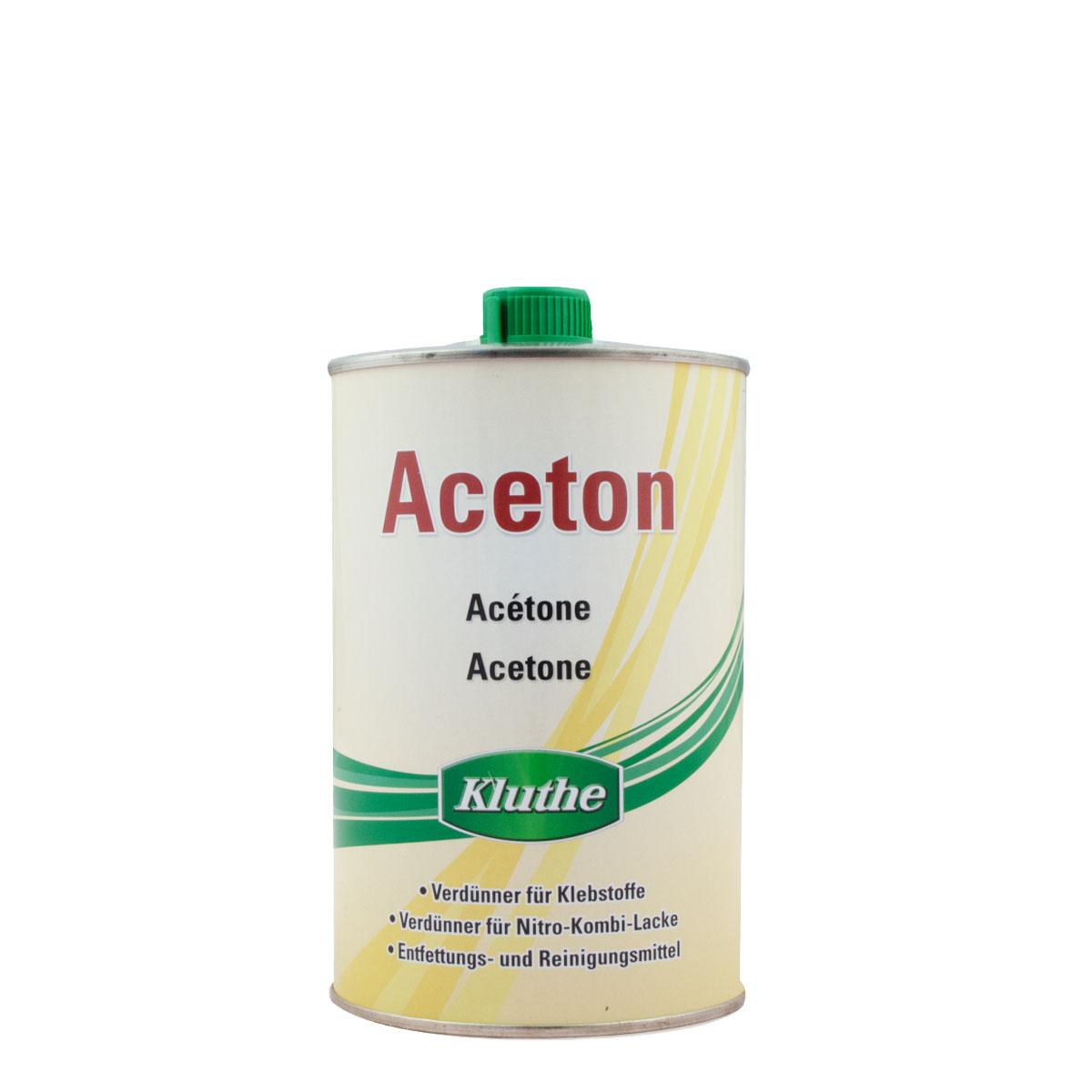Kluthe Aceton 1L, Reiniger, Entfetter, Verdünner