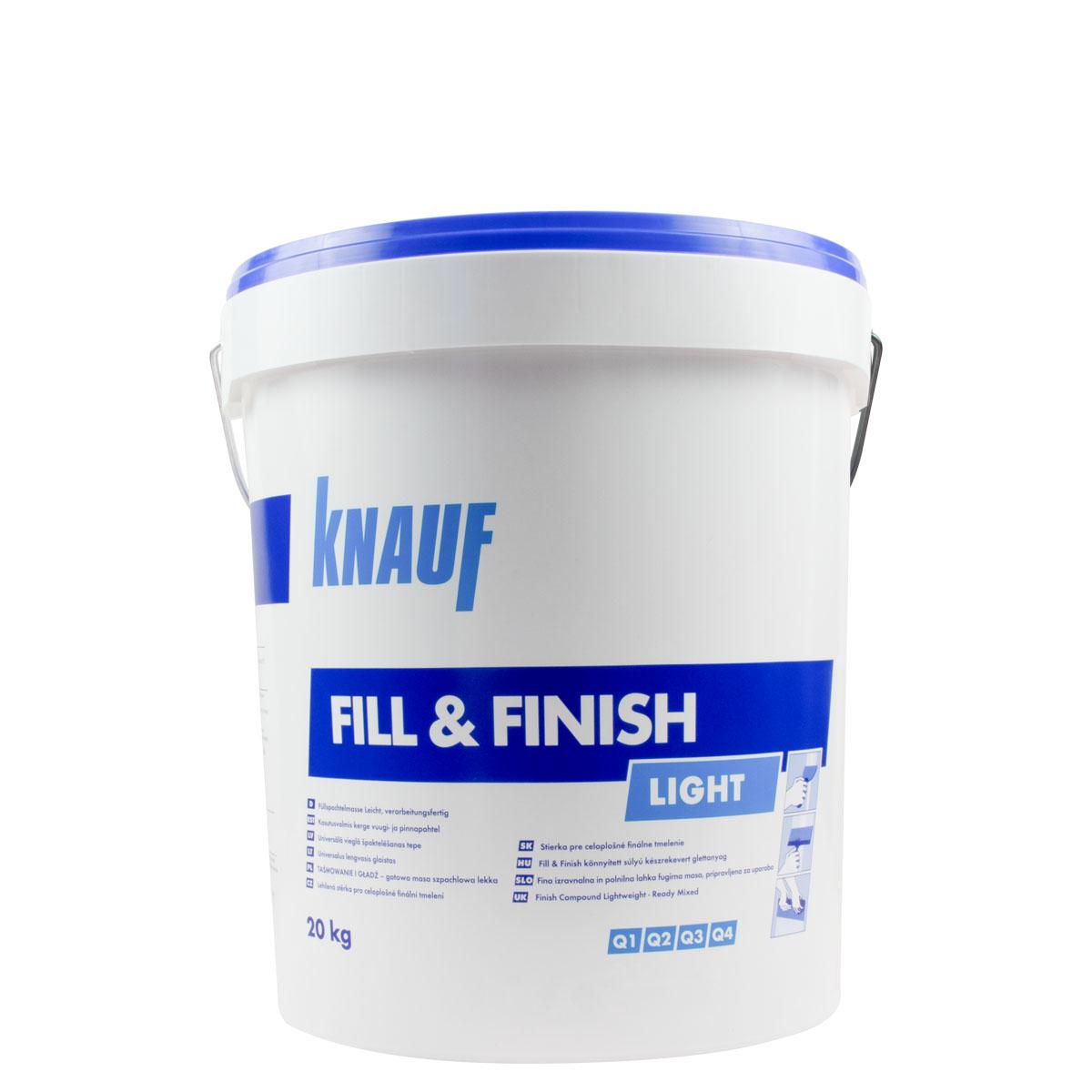 Knauf Fill & Finish Light 20KG ,Sheetrock, Füll- und Feinspachtelmasse