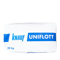 Knauf Uniflott 25kg, Gips-Spachtelmasse