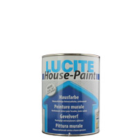 Lucite House Paint ,Hausfarbe, Fassadenfarbe
