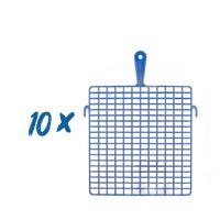 10 x Abstreifgitter Kunststoff 28 x 30cm