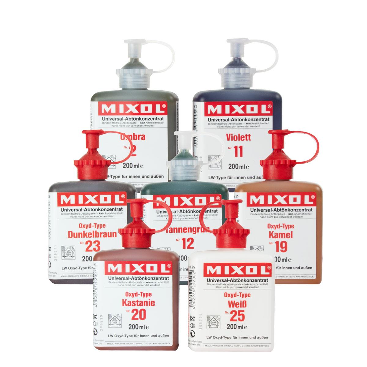Mixol Universal Abtönkonzentrat 200ml Nr 21 Oxyd-Terrabraun