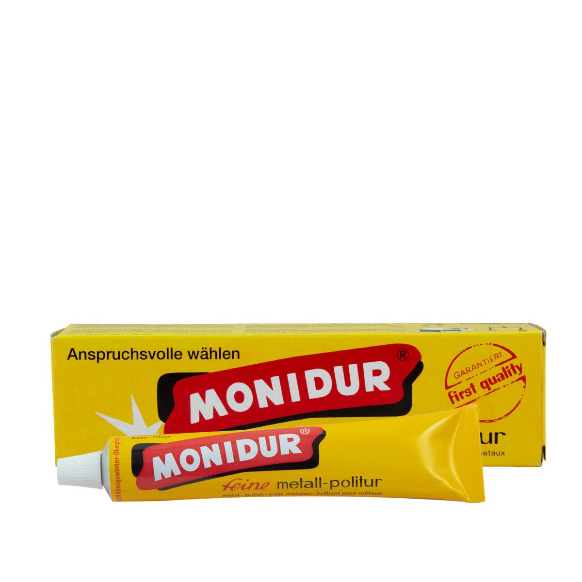 Monidur feine Schleif- u. Polierpaste 100g für Chrom und Metall
