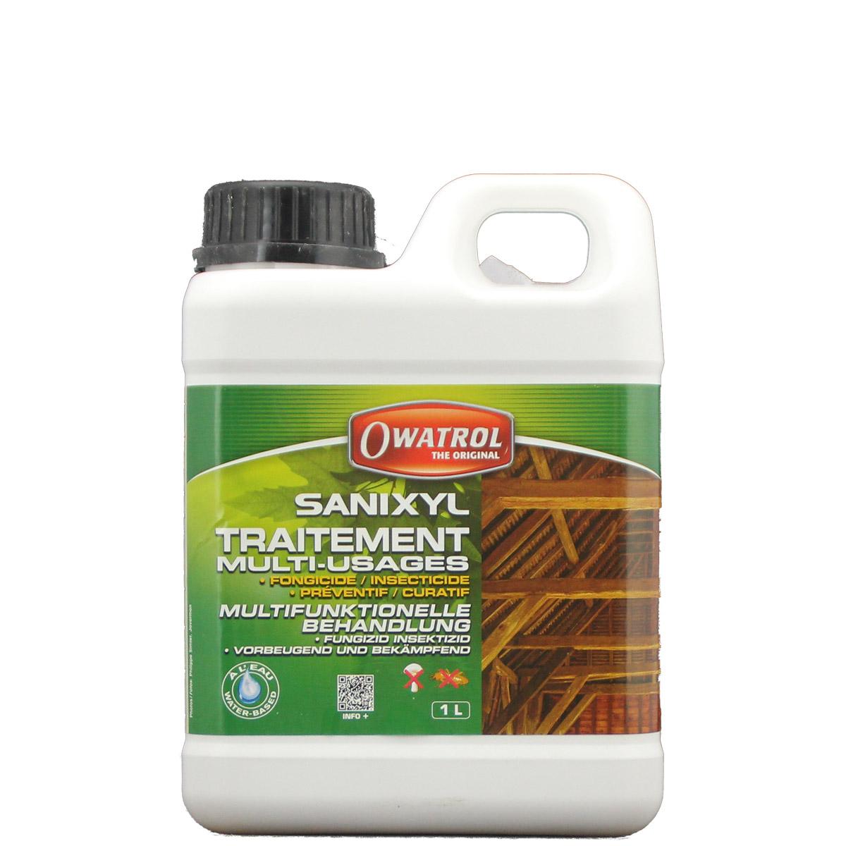Owatrol Sanixyl 1L, Fungizid, Insektizid, Holzwurmtod, Bläueschutz