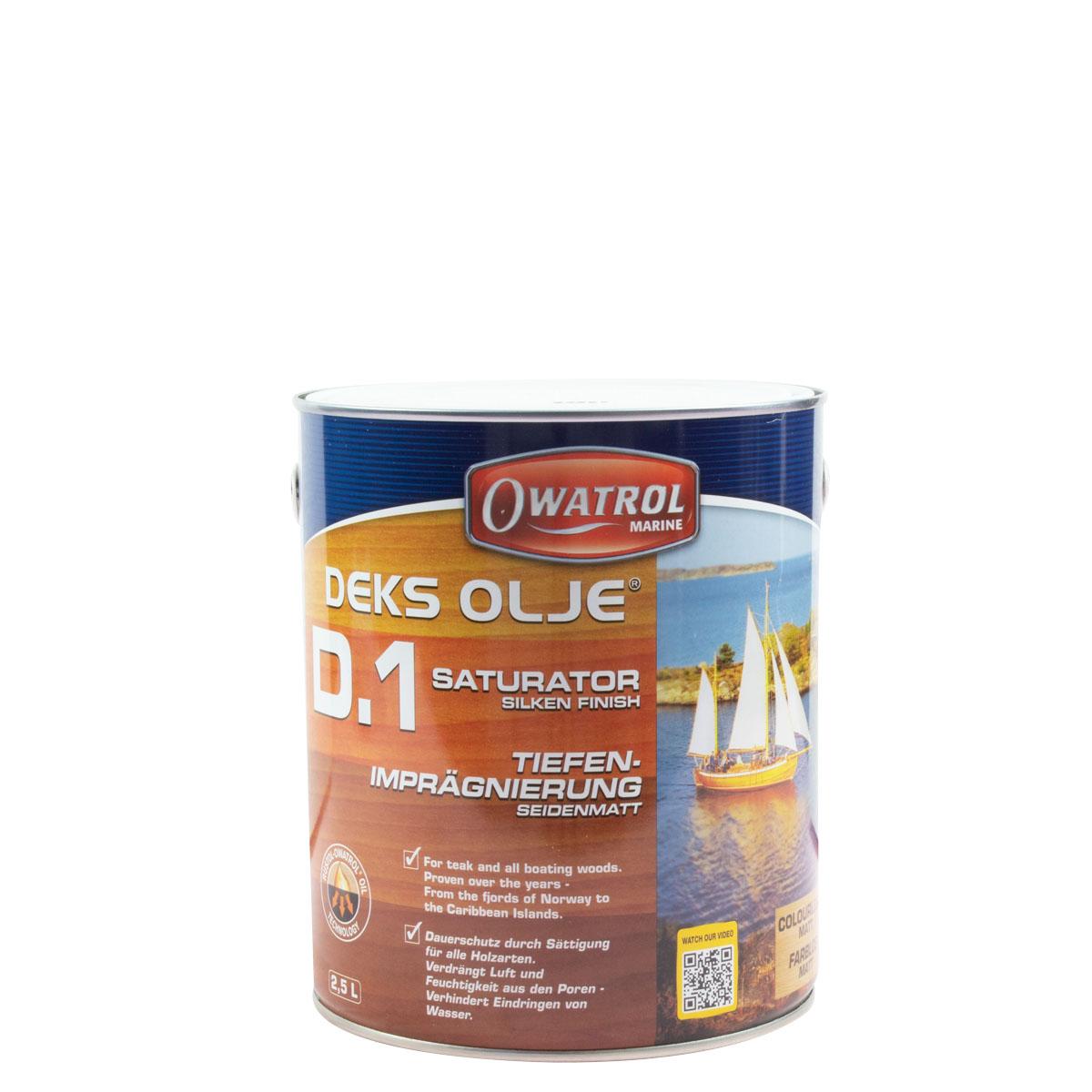 Owatrol Deks Olje D1 2,5L tiefenimprägnierung, seidenmatt