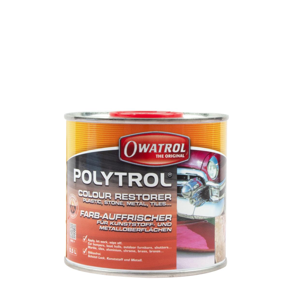 Owatrol Polytrol 0,5L Farb-Auffrischer Kunststoff & Metall