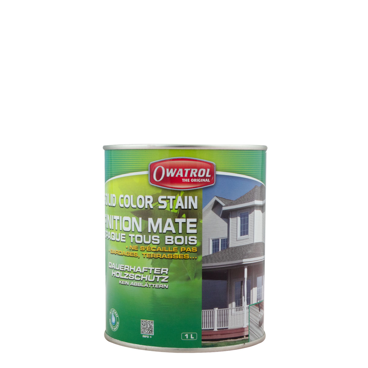 Owatrol Solid Color Stain Deckweiss 1l