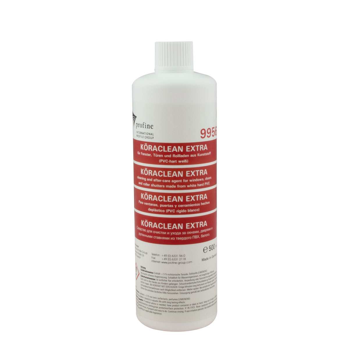 Köraclean Extra, Kunststoffreiniger 500ml 9965