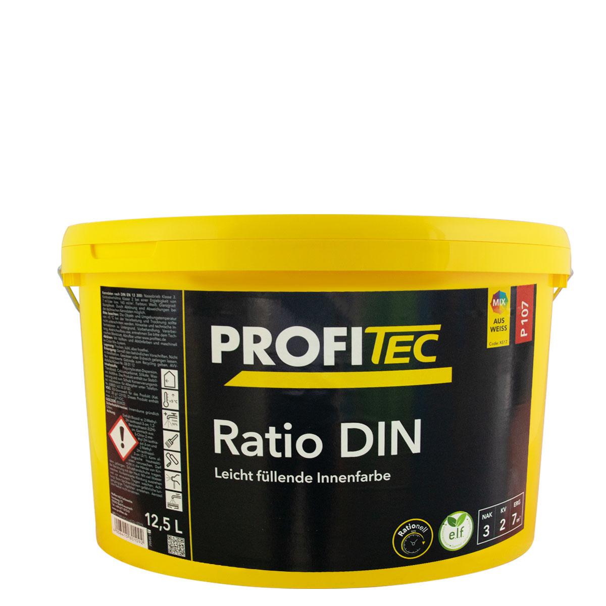 Profitec P107 RatioDin 12,5L stumpfmatt, rationelle Innenwandfarbe (alt DINweiß)