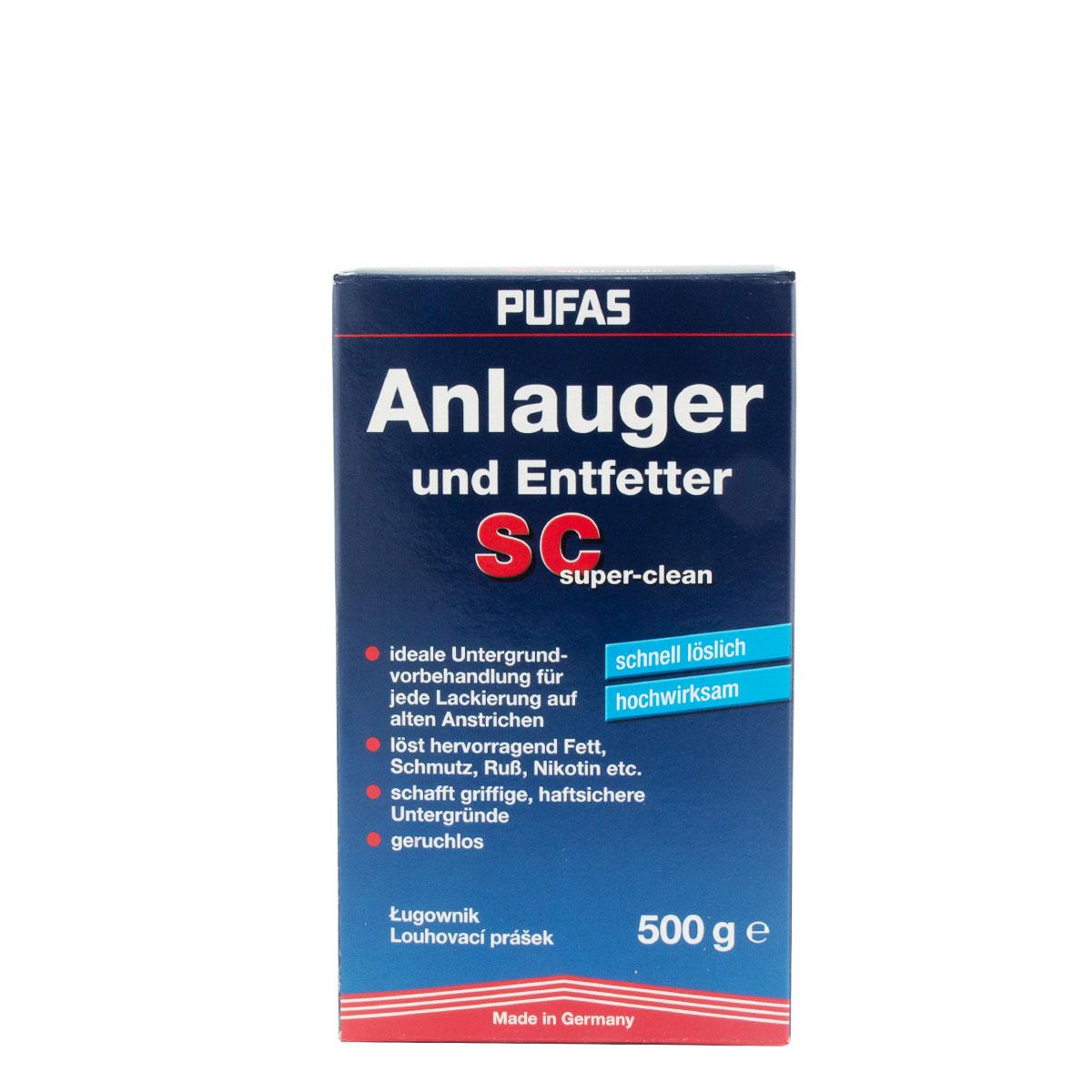 Pufas Anlauger und Entfetter SC 500g Super-Clean Aktivreiniger