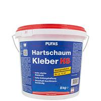 Pufas Hartschaumkleber, 8kg, lösungsmittelfreier Dispersionskleber