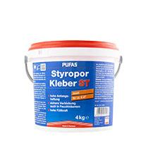 Pufas Styroporkleber 4Kg ,Gebrauchsfertiger Dispersionsklebstoff