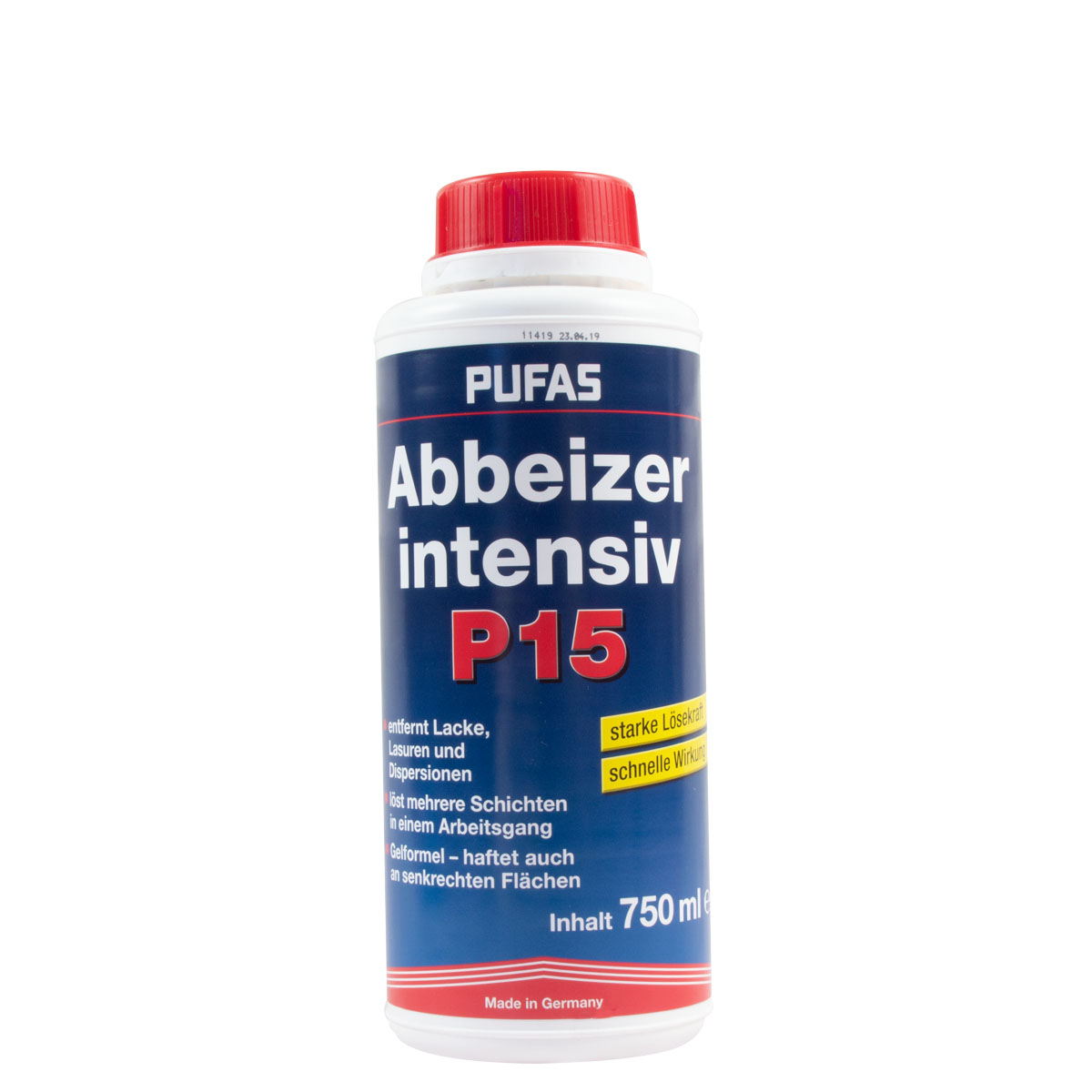 Pufas Abbeizer P15 Intensiv 750ml