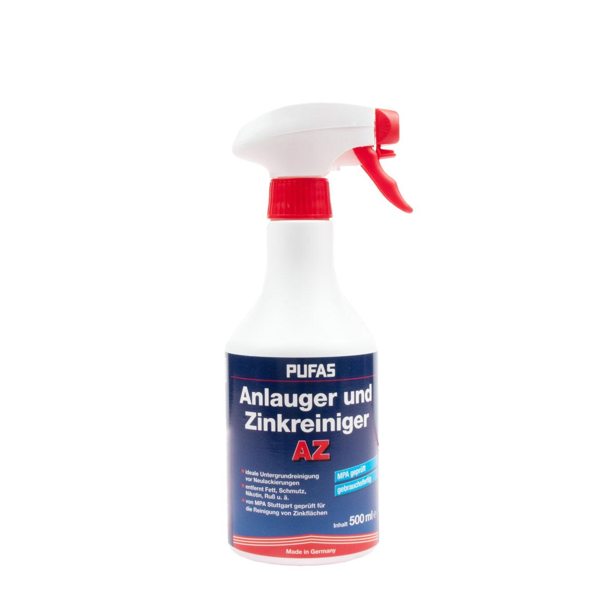 Pufas Anlauger und Entfetterspray 500ml, (Zinkreiniger),Untergrundvorbereitung