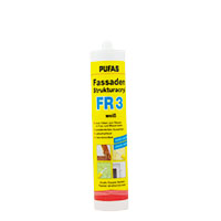 Pufas Fassaden-Strukturacryl weiß FR3 310ml Kartusche, Dichtstoff