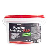 Pufas Flüssige Rauhfaser R25 2,5L weiss