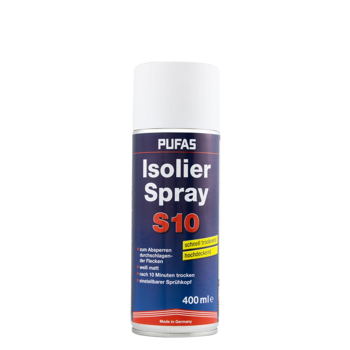 Pufas Isolierspray 400 ml weiß