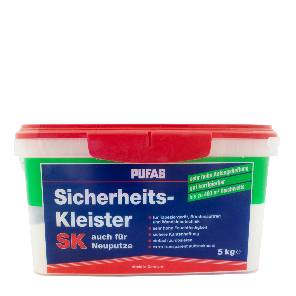 Pufas Sicherheits-Kleister SK 5 Kg, Tapetenkleister
