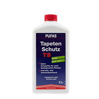 Pufas Tapeten- und Anstrichschutz 1L, farblos, Schutzfilm
