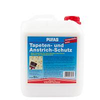 Pufas Tapeten- und Anstrichschutz 5L, farblos, Schutzfilm