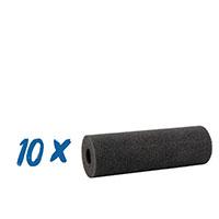 10x Rotaschaum Heizkörperwalze konkav 11cm D=35, anthrazit #50469