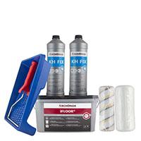 Schönox iFloor Set 4kg + KH Fix 2kg + 2 Spezialrollen u. 1 Farbwanne, 50qm