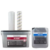 Schönox iFloor Set 11kg + KH Fix 5kg + 2 Spezialrollen, 125qm