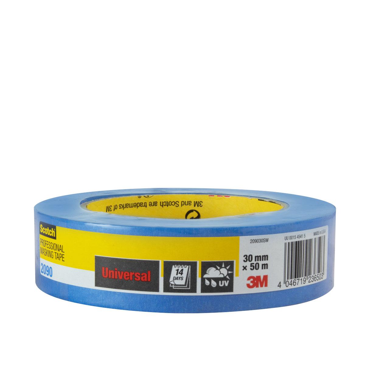 3M Scotch Super Malerabdeckband 2090, 30mm, blau