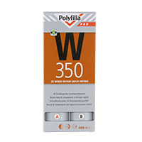 Polyfilla W350 Pro 2K Holzreparaturspachtel