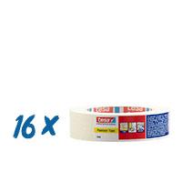 16 x Tesa 4348 Malerkrepp 19mm, Malerband,16er Pack