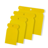 Japanspachtel Satz Kunststoff 4-teilig gelb