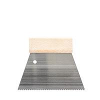 Kleberauftragsspachtel 180mm versch. Zahnungen, Zahnspachtel, Kleberspachtel