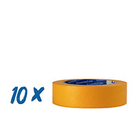 10 x Klebeband Gold, Goldband 30mm, 10er Pack