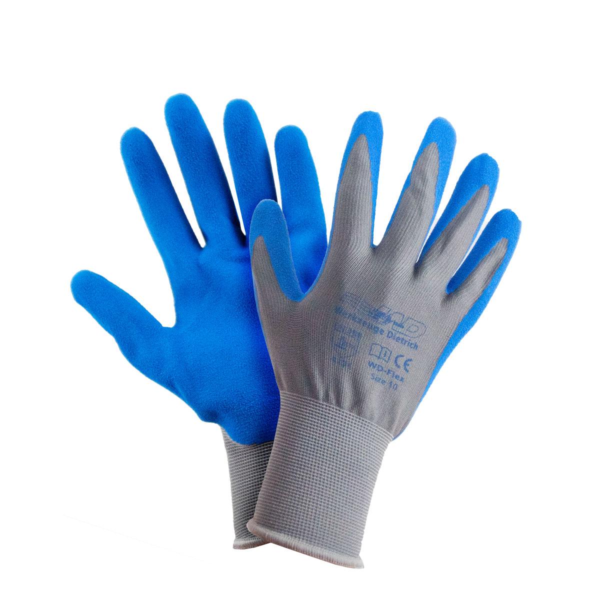 Flex-Handschuhe grau/blau 9