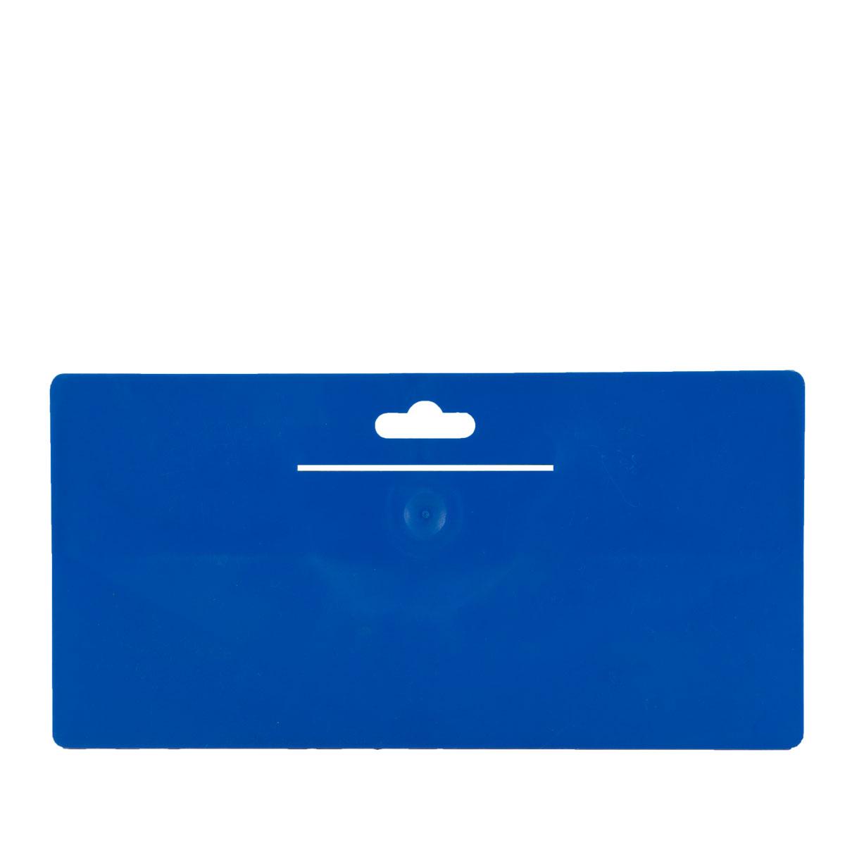 Tapezierspachtel Blau 240x120 mm, Tapeten-Andrückspachtel