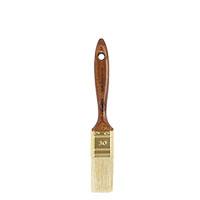Wistoba 1516 Malerflachpinsel, 9.Stärke, helle Chinaborsten, Lasurpinsel, Lackpi