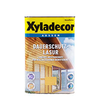Xyladecor Dauerschutz-Lasur 4L Eiche-Hell