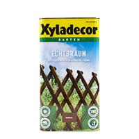 Xyladecor Echtbraun 5L Wetterschutz für Zäune, Zaunlasur