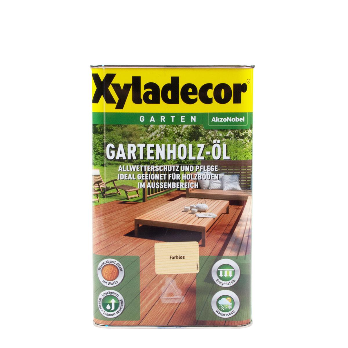 Xyladecor Gartenholz-Öl versch. Farben 2,5L