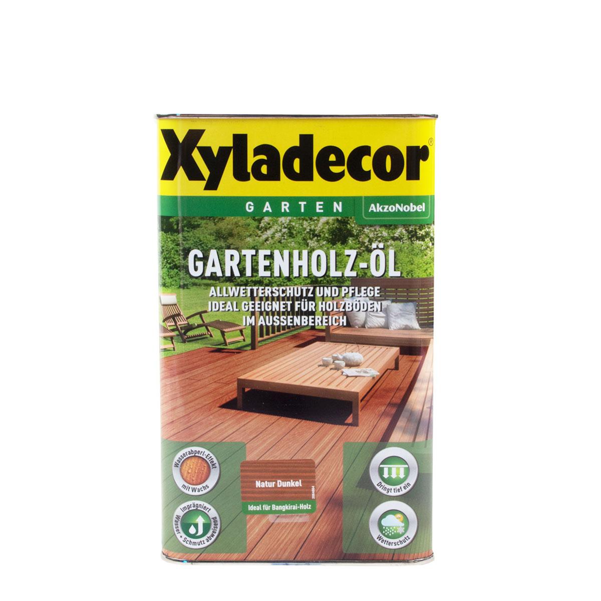 Xyladecor Gartenholz-Öl Natur Dunkel 2,5L