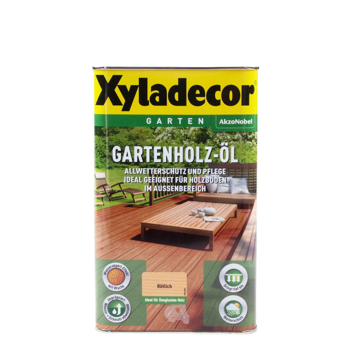 Xyladecor Gartenholz-Öl Rötlich 2,5L