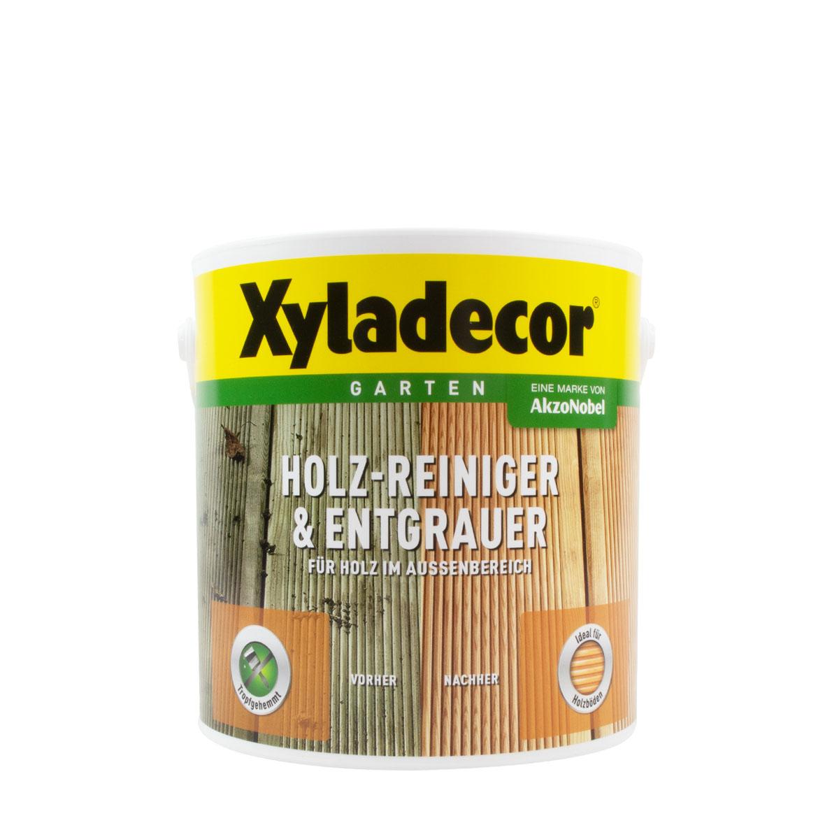 Xyladecor Holz-Reiniger & Entgrauer 2,5L